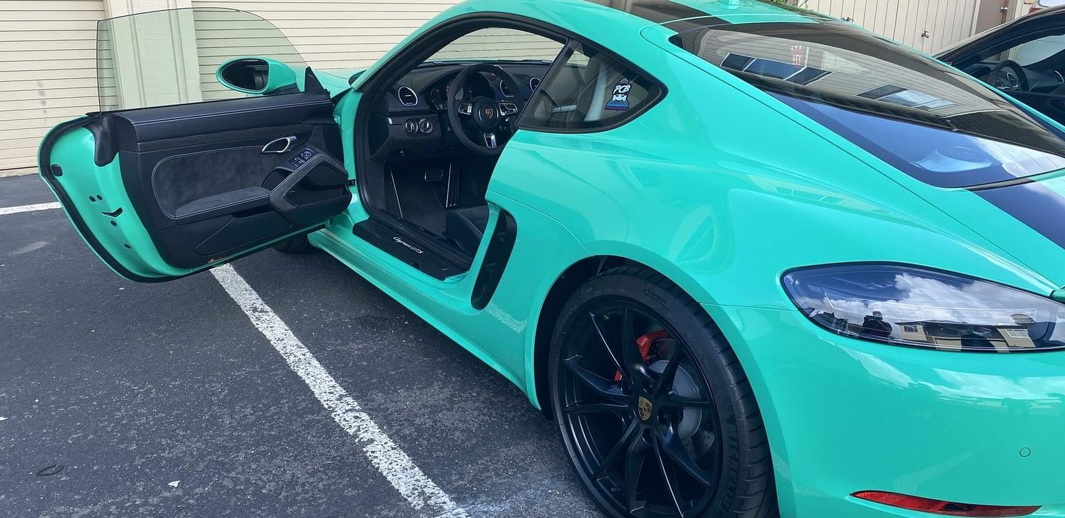Porsche 718 2019 CAYMAN S Interior