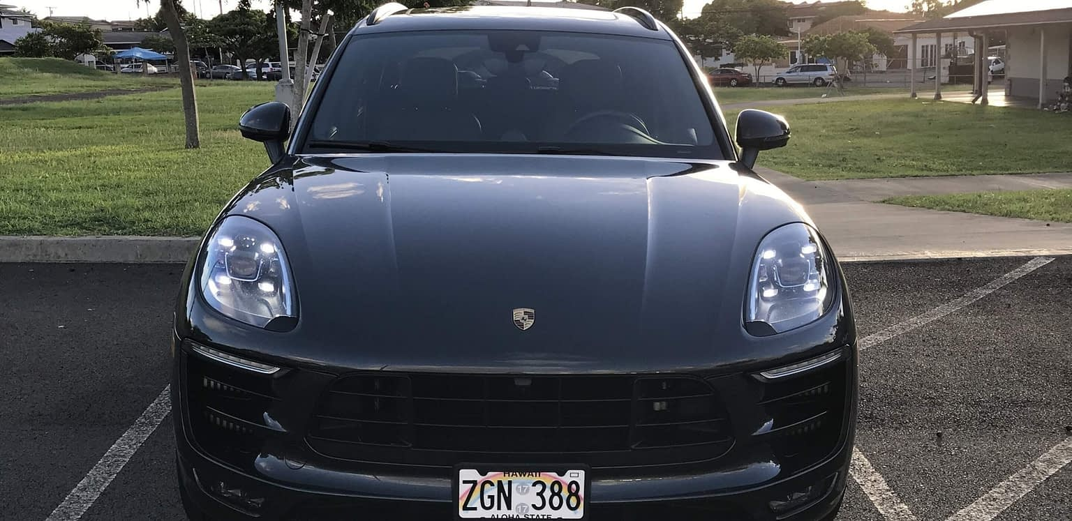 Porsche Macan2018 GTS Front